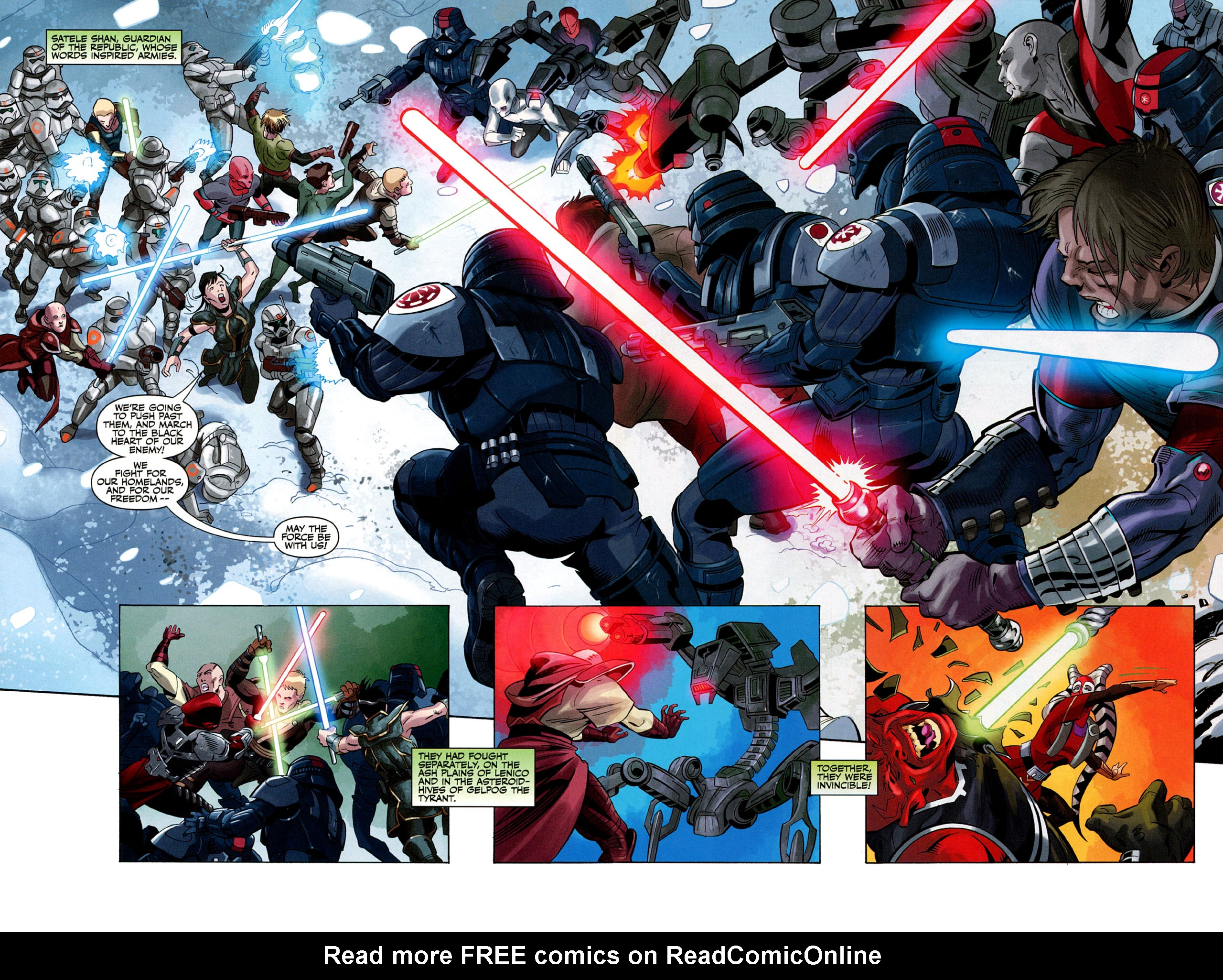 Read online Star Wars: The Old Republic - The Lost Suns comic -  Issue #1 - 4