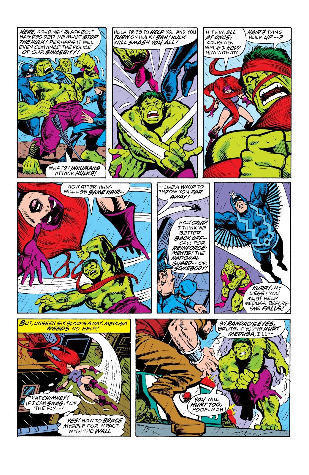 Read online Marvel Masterworks: The Inhumans comic -  Issue # TPB 2 (Part 3) - 2