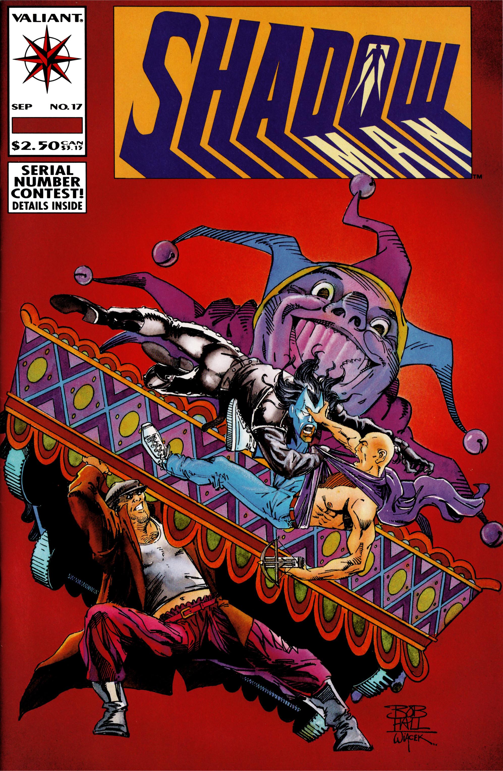 Read online Shadowman (1992) comic -  Issue #17 - 1