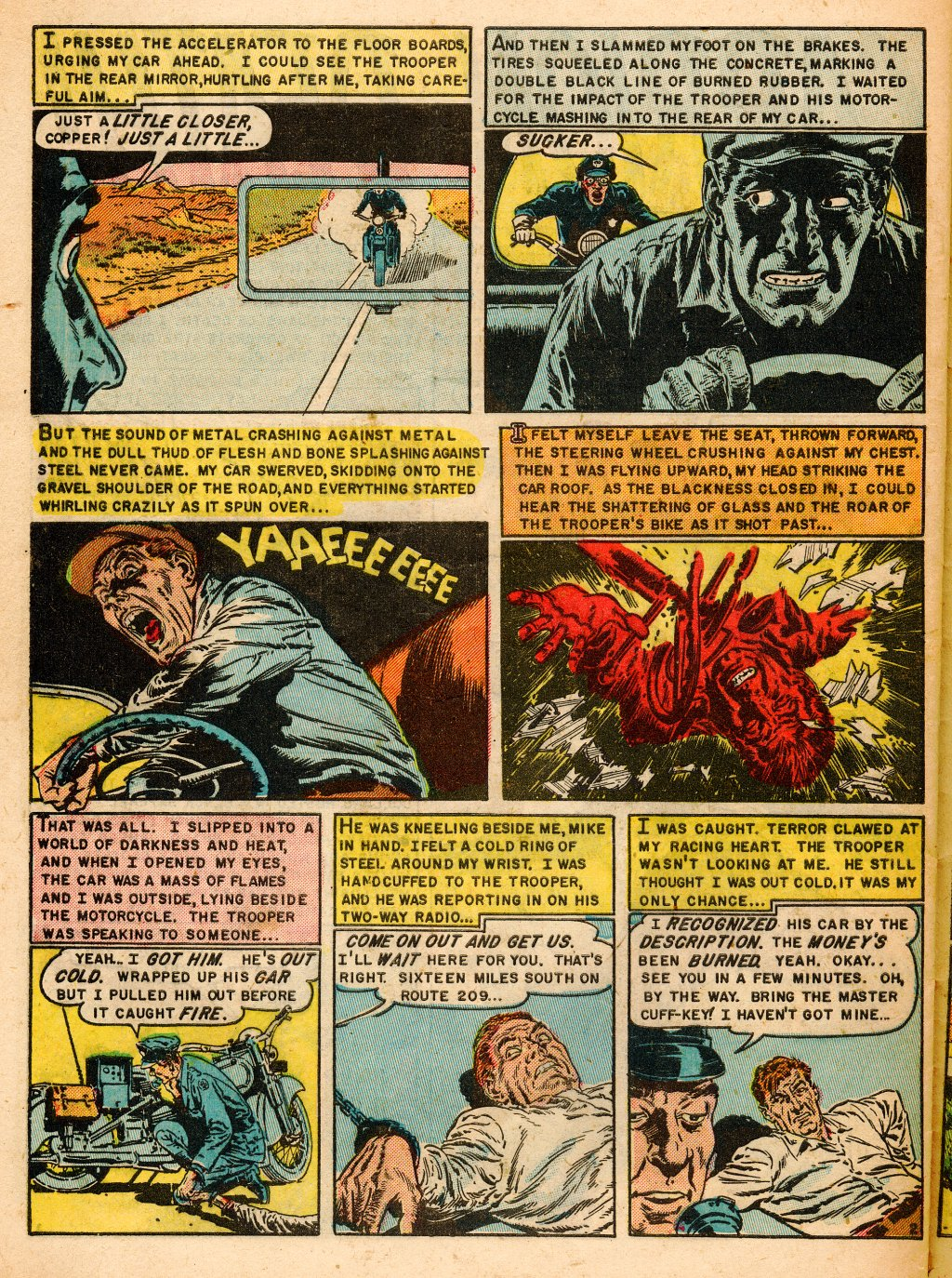 Read online Shock SuspenStories comic -  Issue #9 - 28