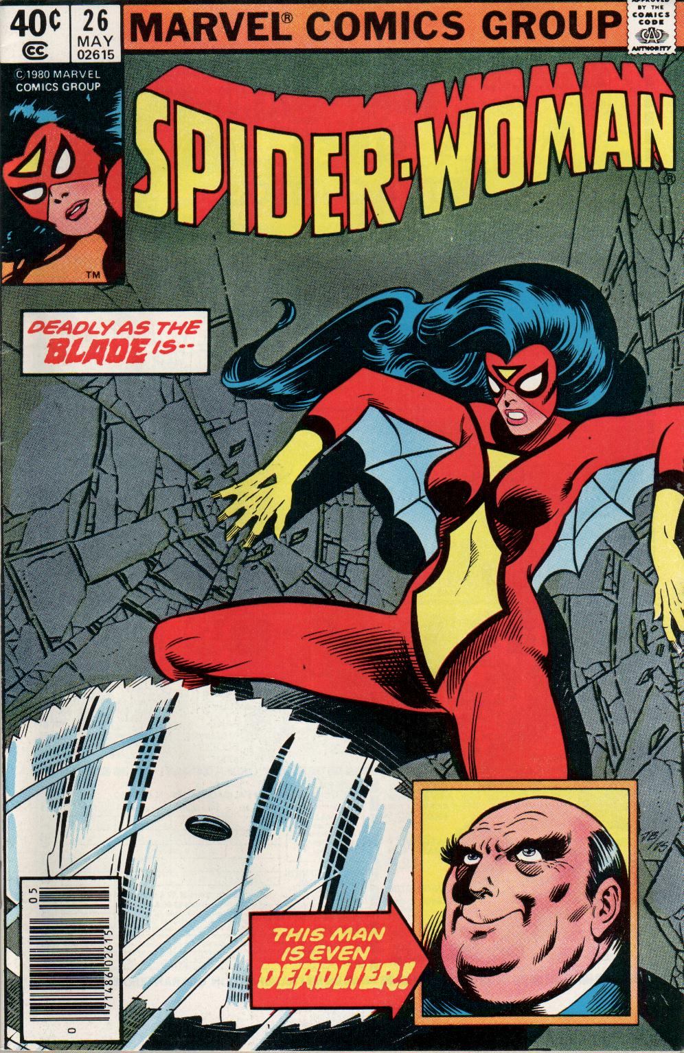 Spider-Woman (1978) issue 26 - Page 1