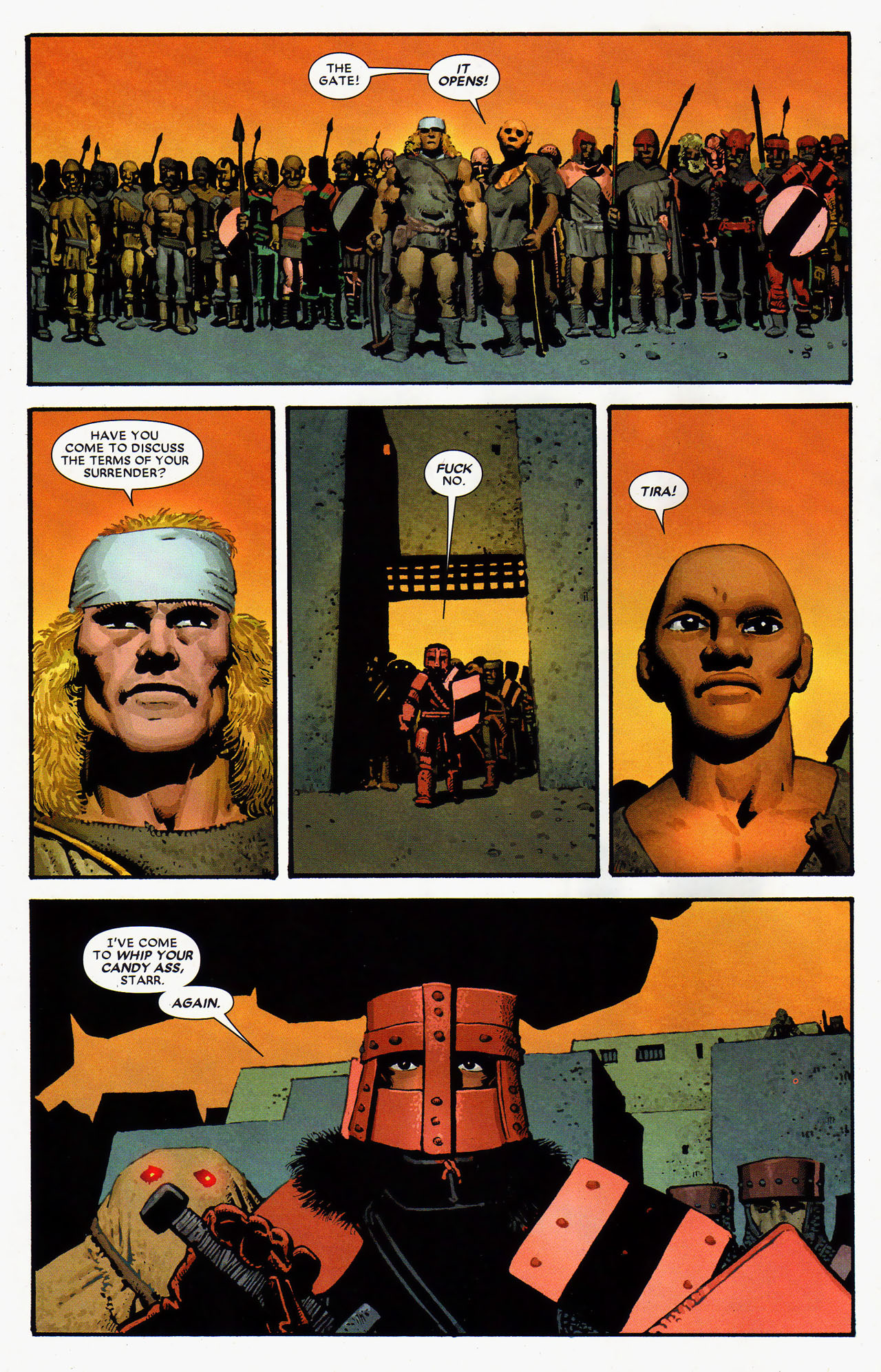 Read online Starr the Slayer comic -  Issue #4 - 4