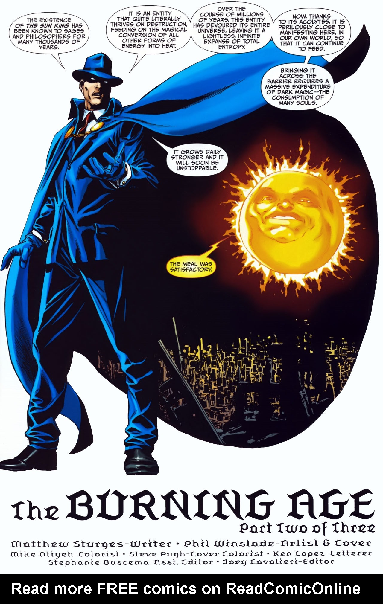 Read online Shadowpact comic -  Issue #24 - 2