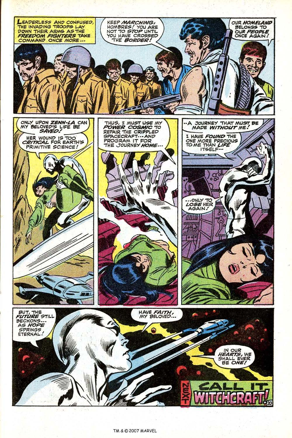 Read online Silver Surfer (1968) comic -  Issue #11 - 29