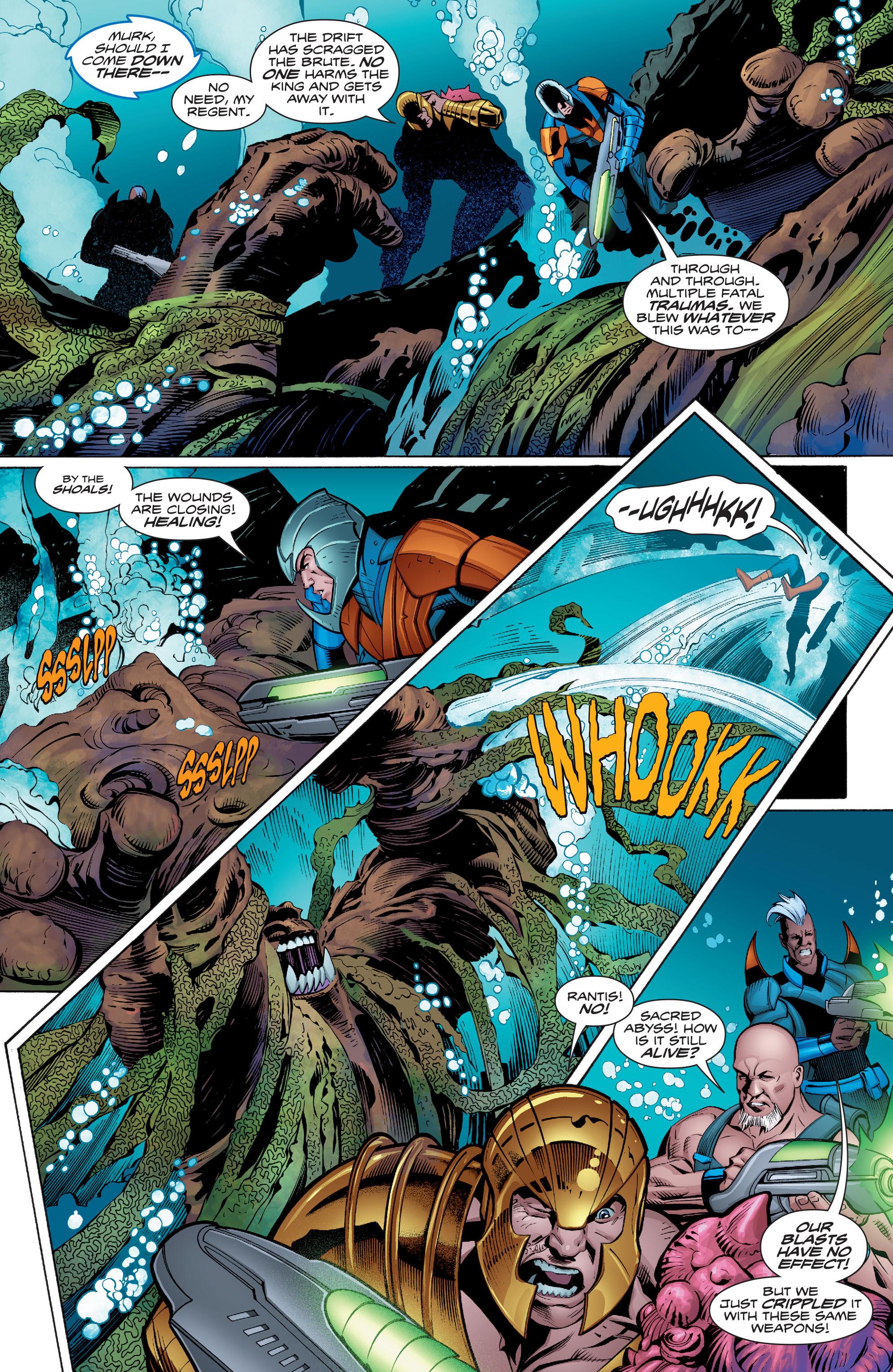 Read online Aquaman (2016) comic -  Issue #8 - 11
