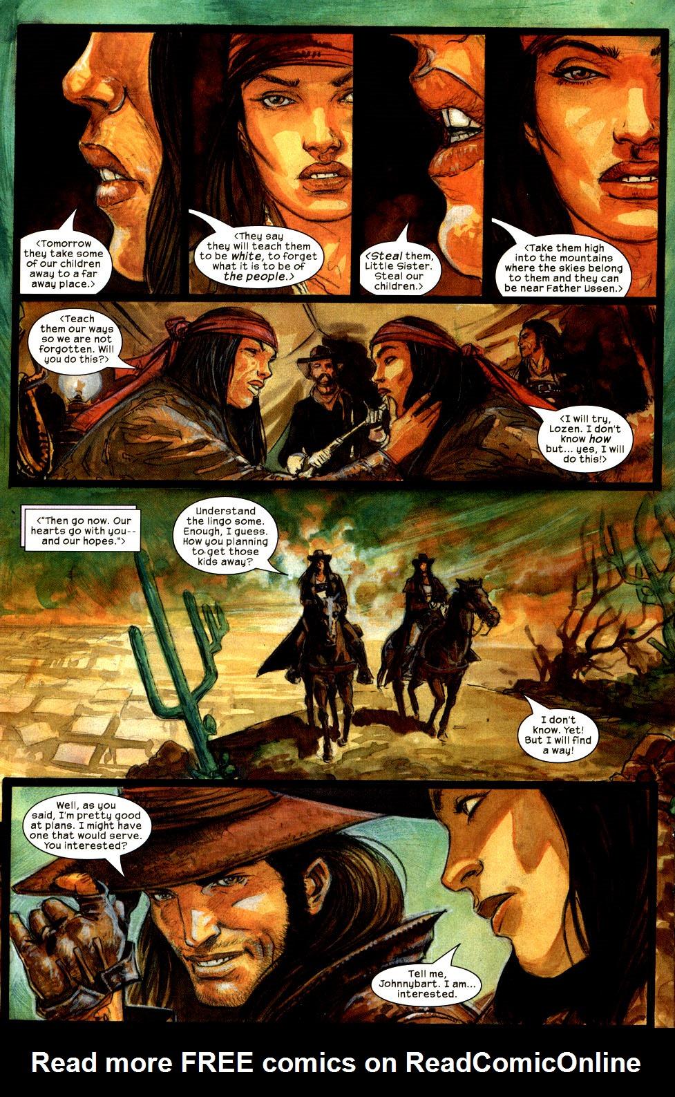 Read online Apache Skies comic -  Issue #3 - 16