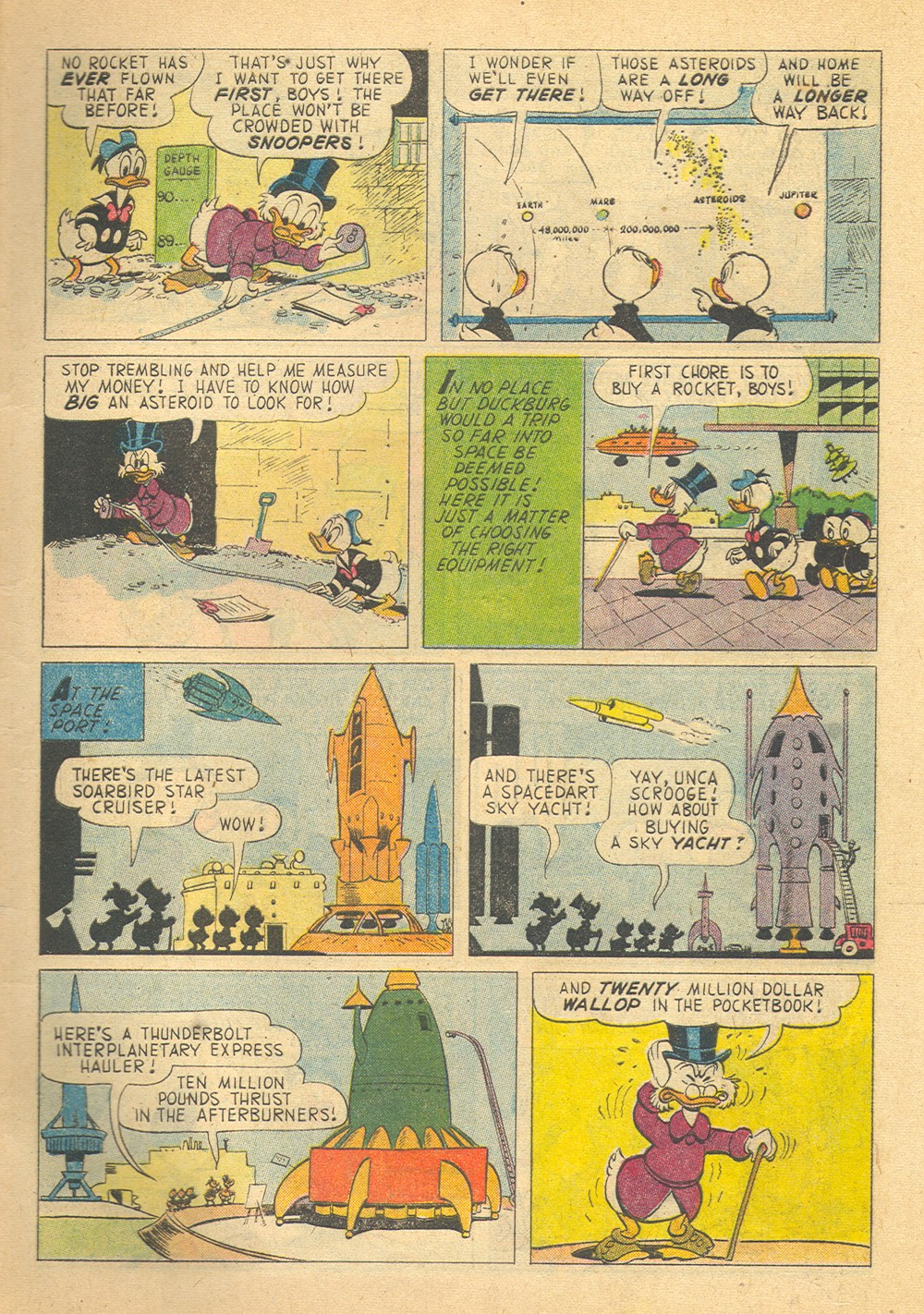 Read online Uncle Scrooge (1953) comic -  Issue #29 - 5