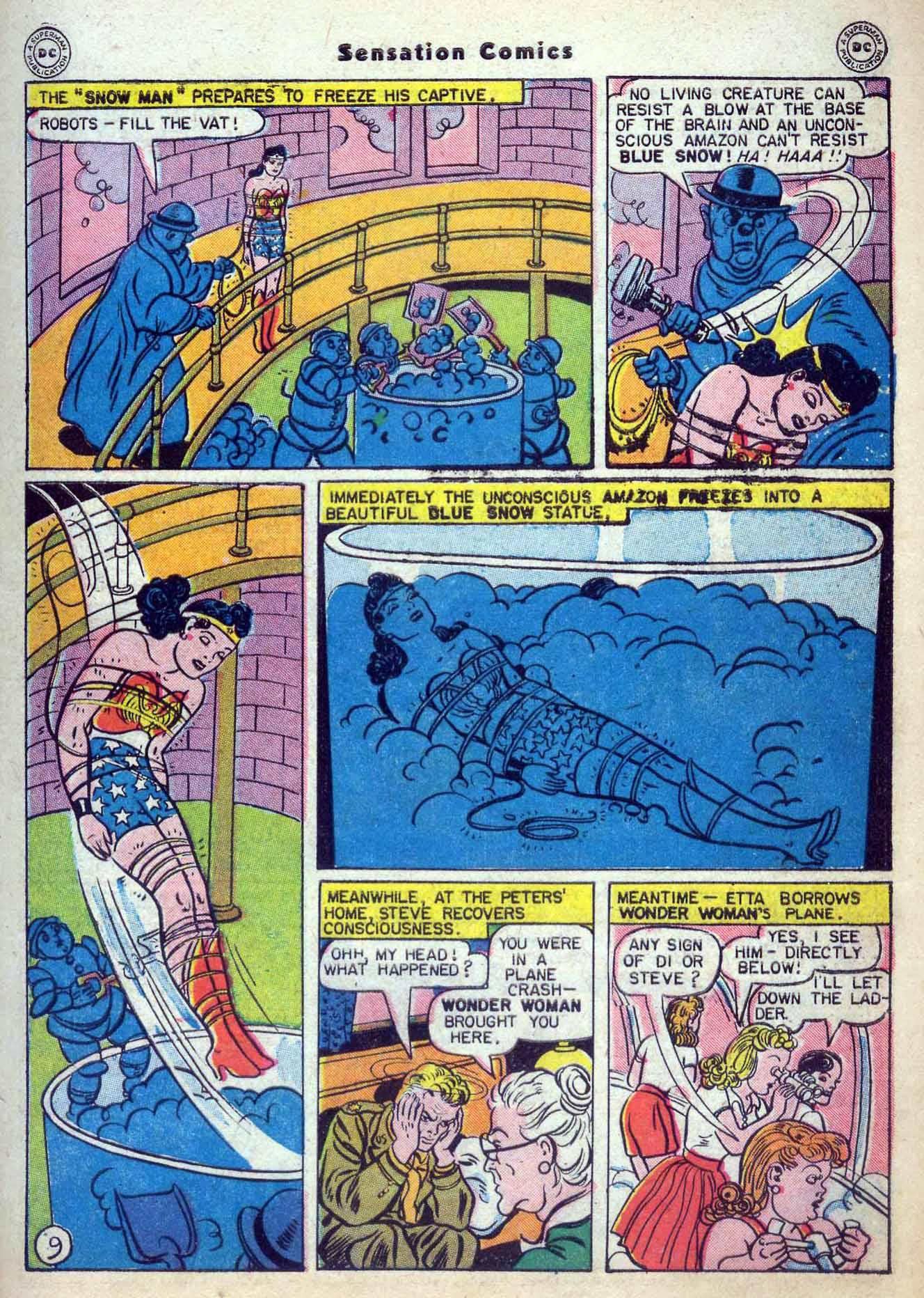 Read online Sensation (Mystery) Comics comic -  Issue #59 - 11
