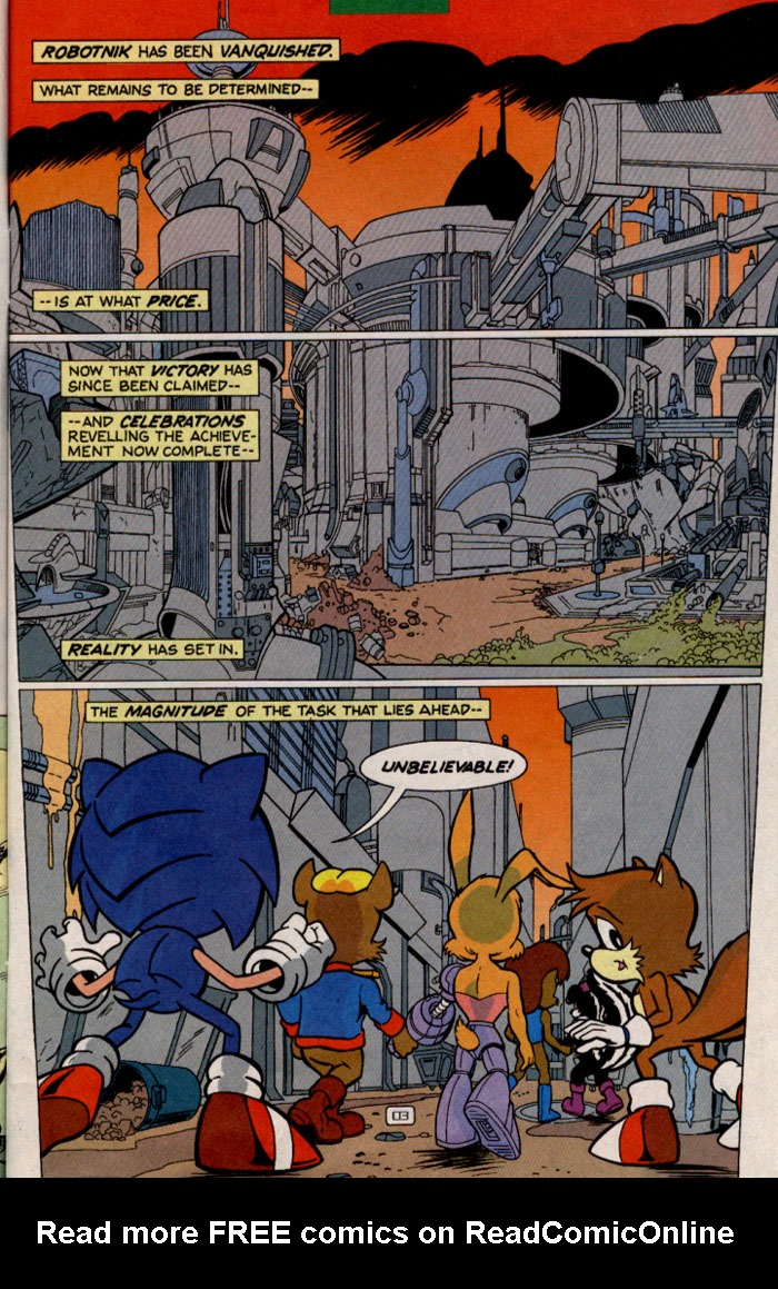 Read online Sonic Super Special comic -  Issue #2 - Brave new world - 6