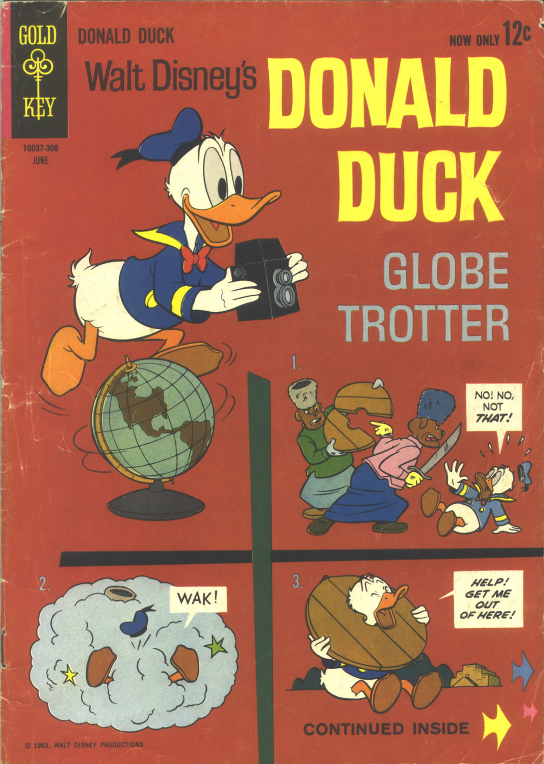 Walt Disney's Donald Duck (1952) issue 88 - Page 1