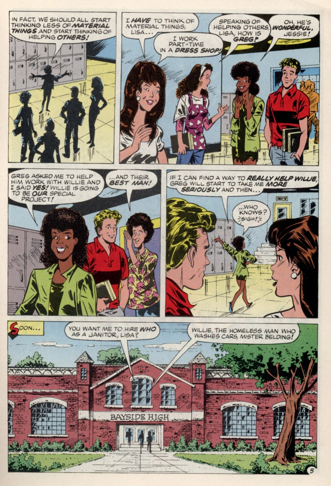 Read online Saved By The Bell comic -  Issue #4 - 24