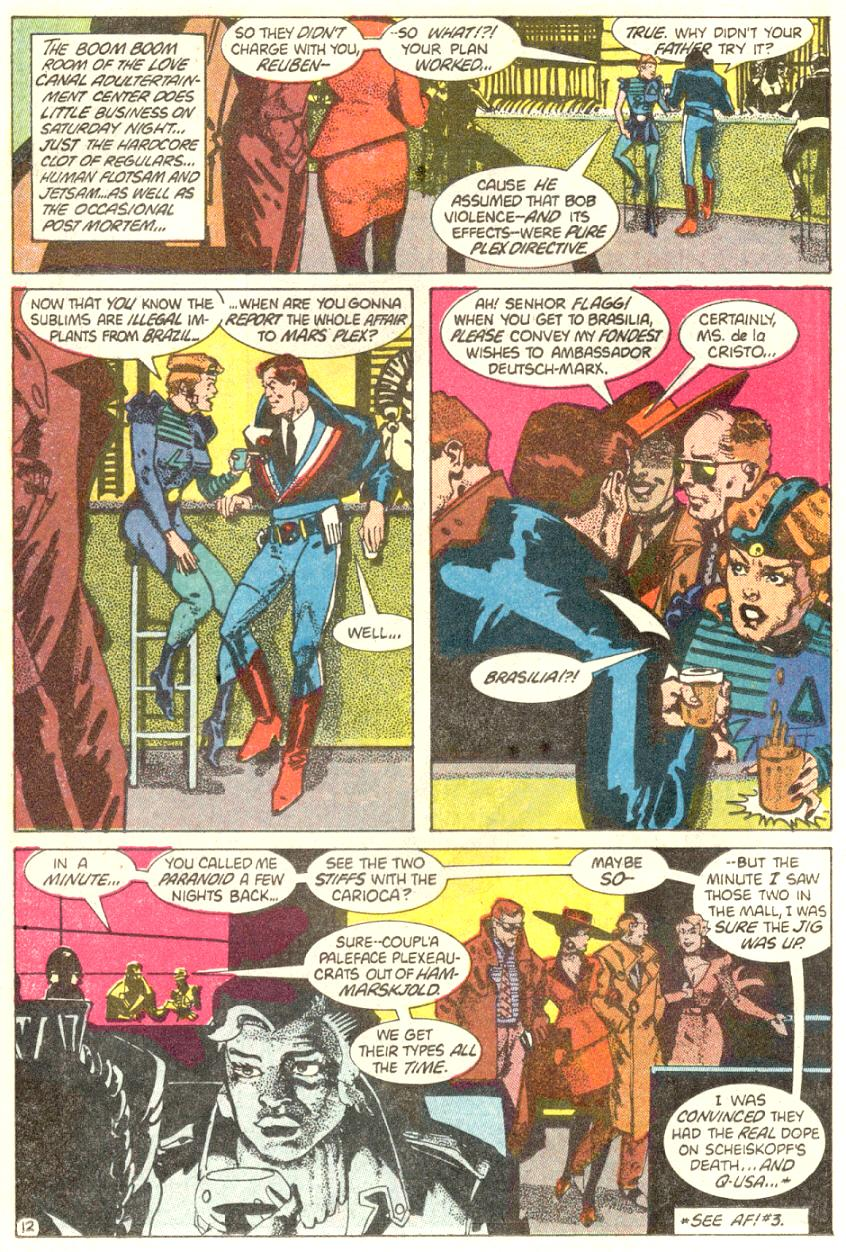 American Flagg! issue 4 - Page 13