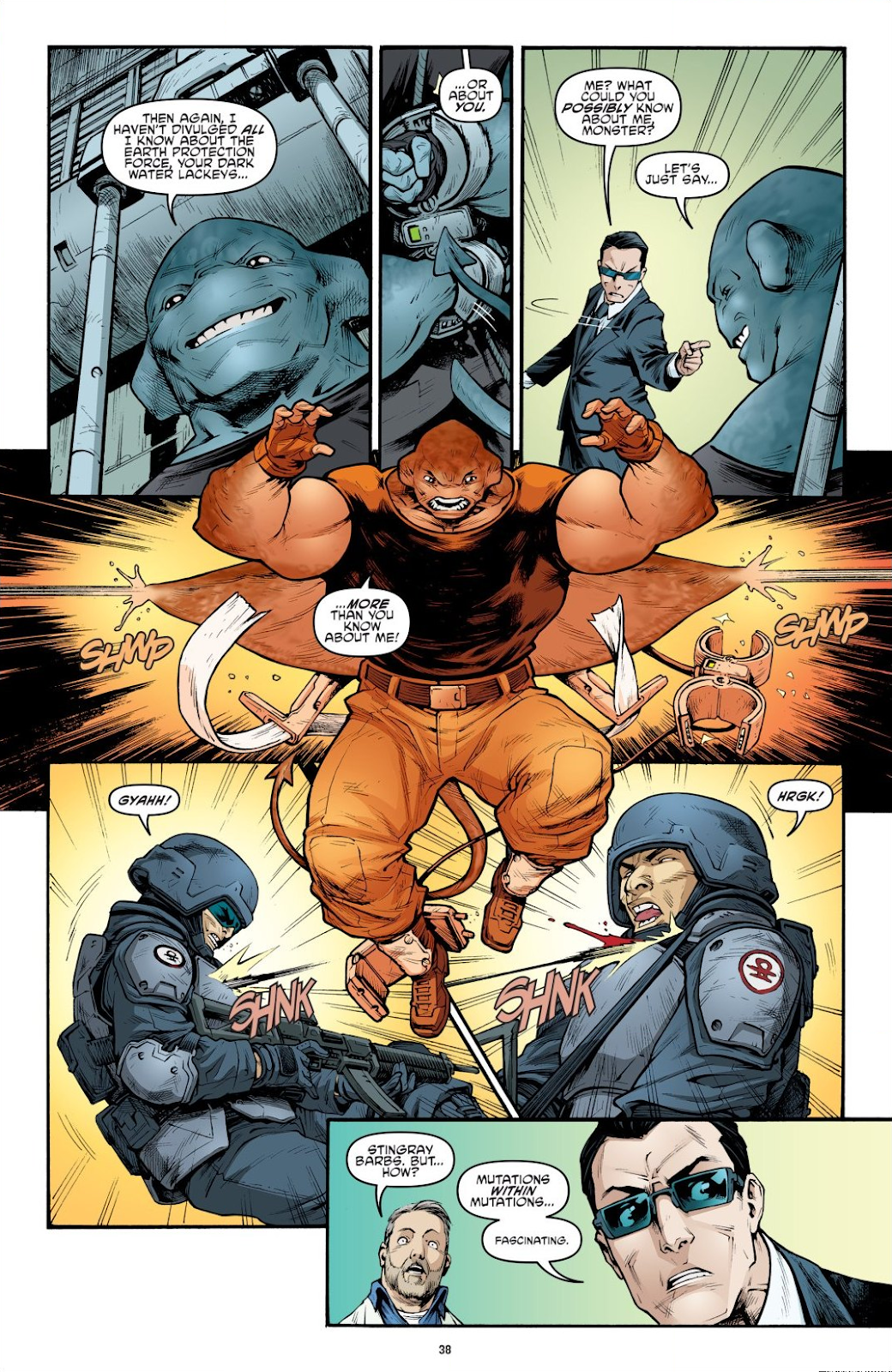 Read online Teenage Mutant Ninja Turtles: The IDW Collection comic -  Issue # TPB 9 (Part 1) - 39
