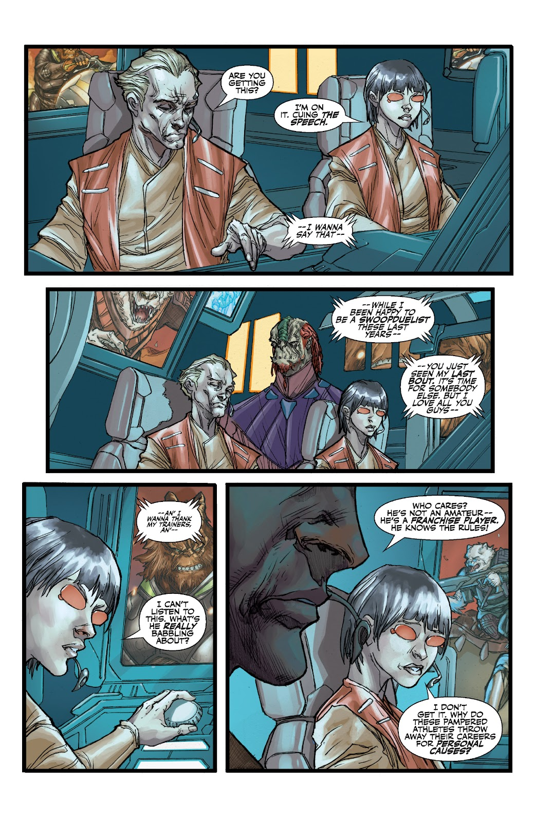 Read online Star Wars Legends: The Old Republic - Epic Collection comic -  Issue # TPB 3 (Part 1) - 34