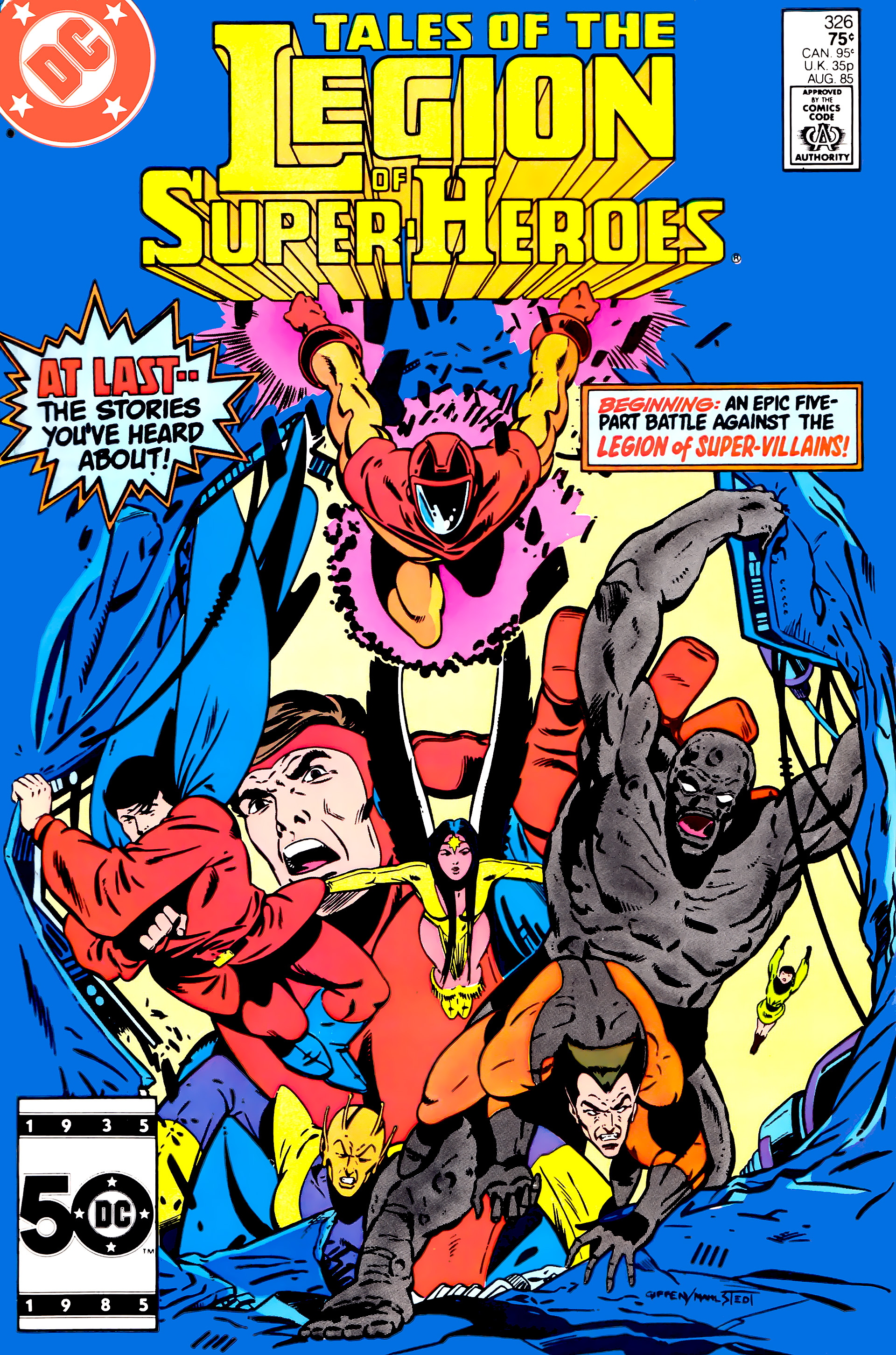 Legion Of Super Heroes Comic Issue 306 Bronze Age First: Read Online Legion Of Super-Heroes (1984) Comic