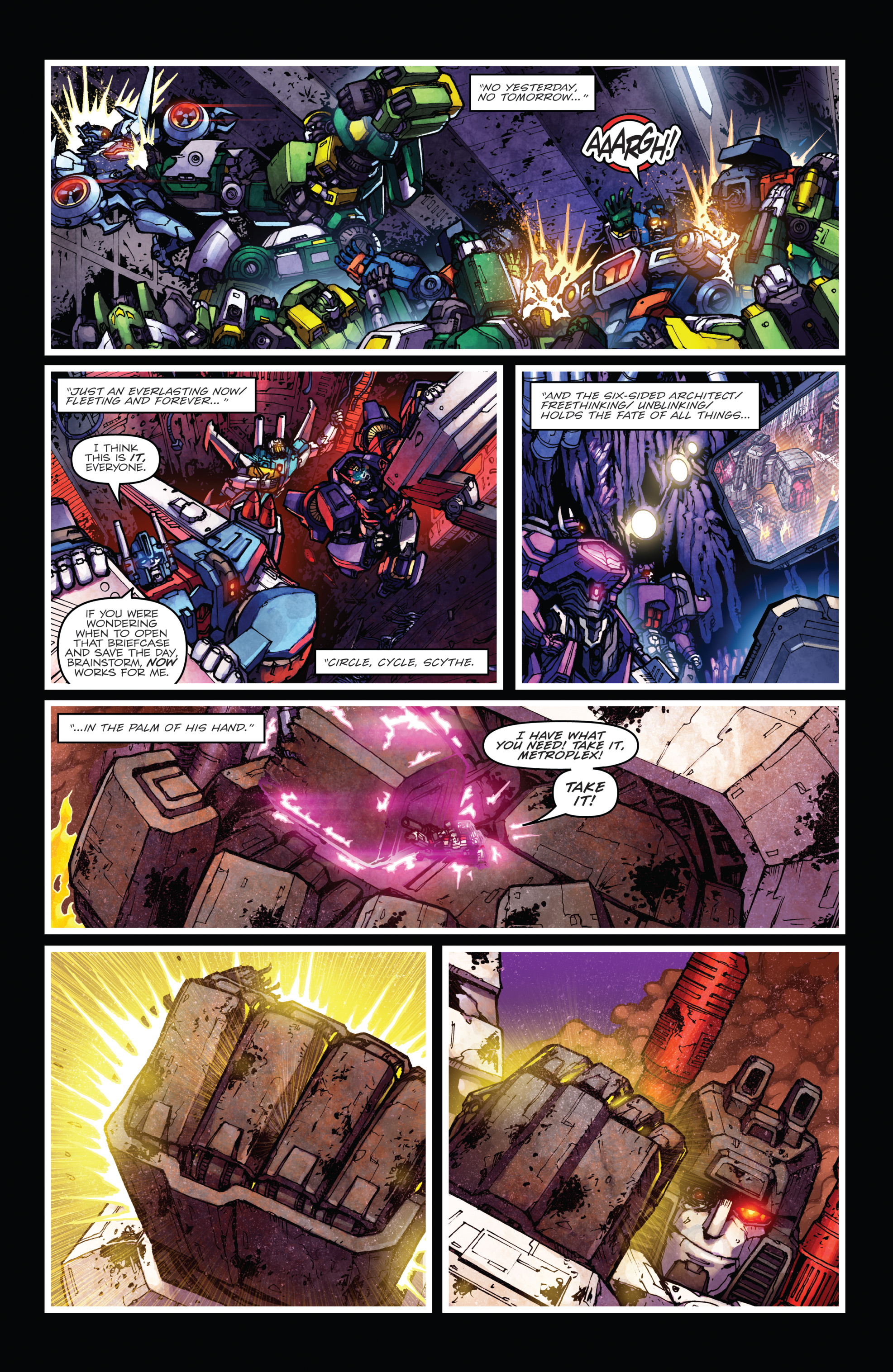 Read online The Transformers: Dark Cybertron Finale comic -  Issue # Full - 72