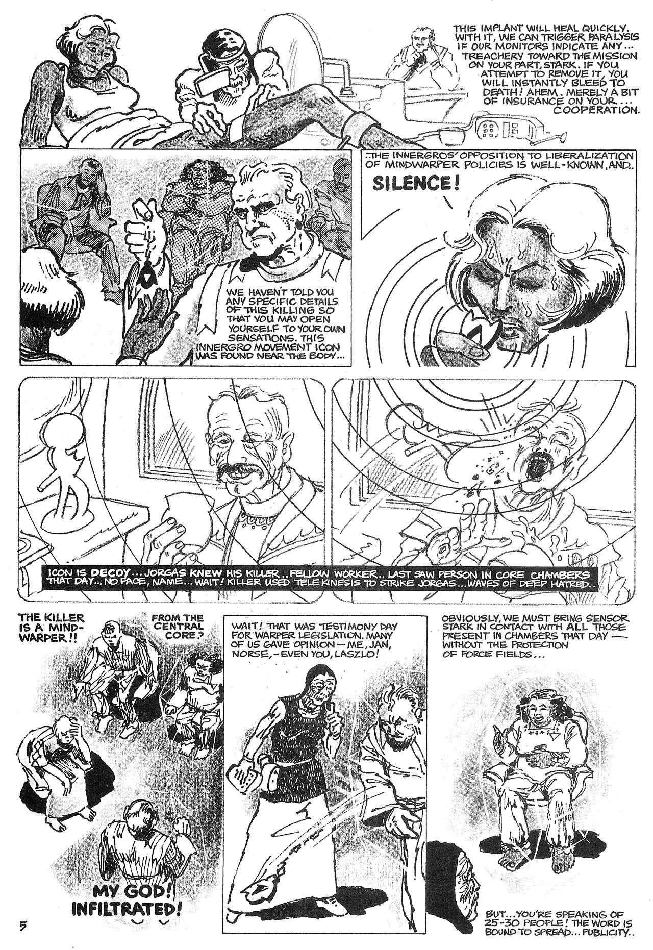 Read online Star*Reach comic -  Issue #11 - 24