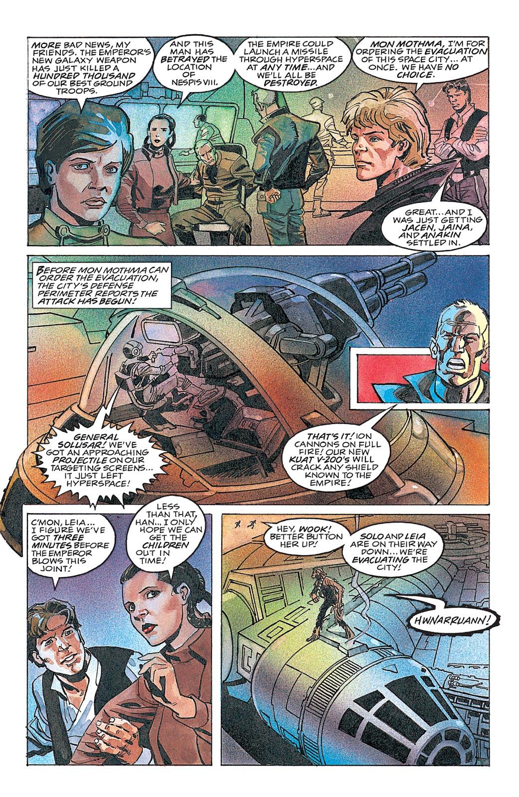 Read online Star Wars: Dark Empire Trilogy comic -  Issue # TPB (Part 4) - 18