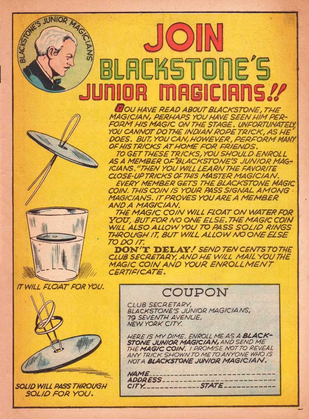 Read online Super-Magician Comics comic -  Issue #2 - 41
