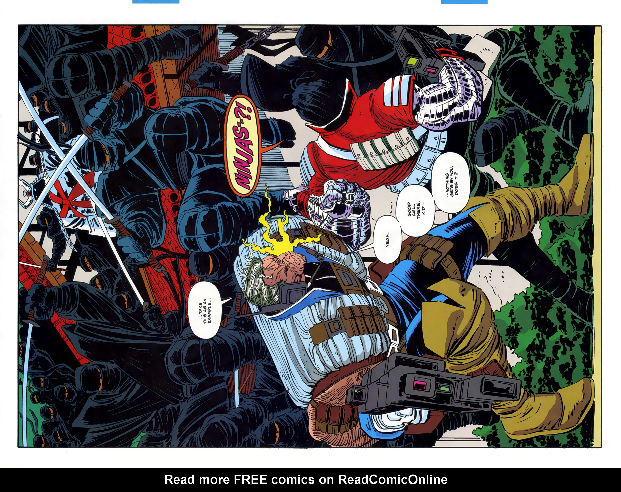 Read online Cable - Blood and Metal comic -  Issue #2 - 6