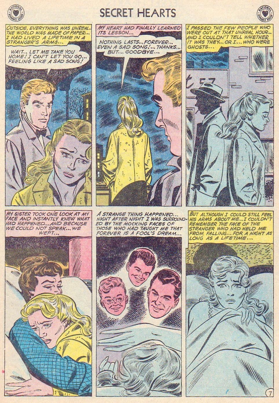 Read online Secret Hearts comic -  Issue #72 - 33