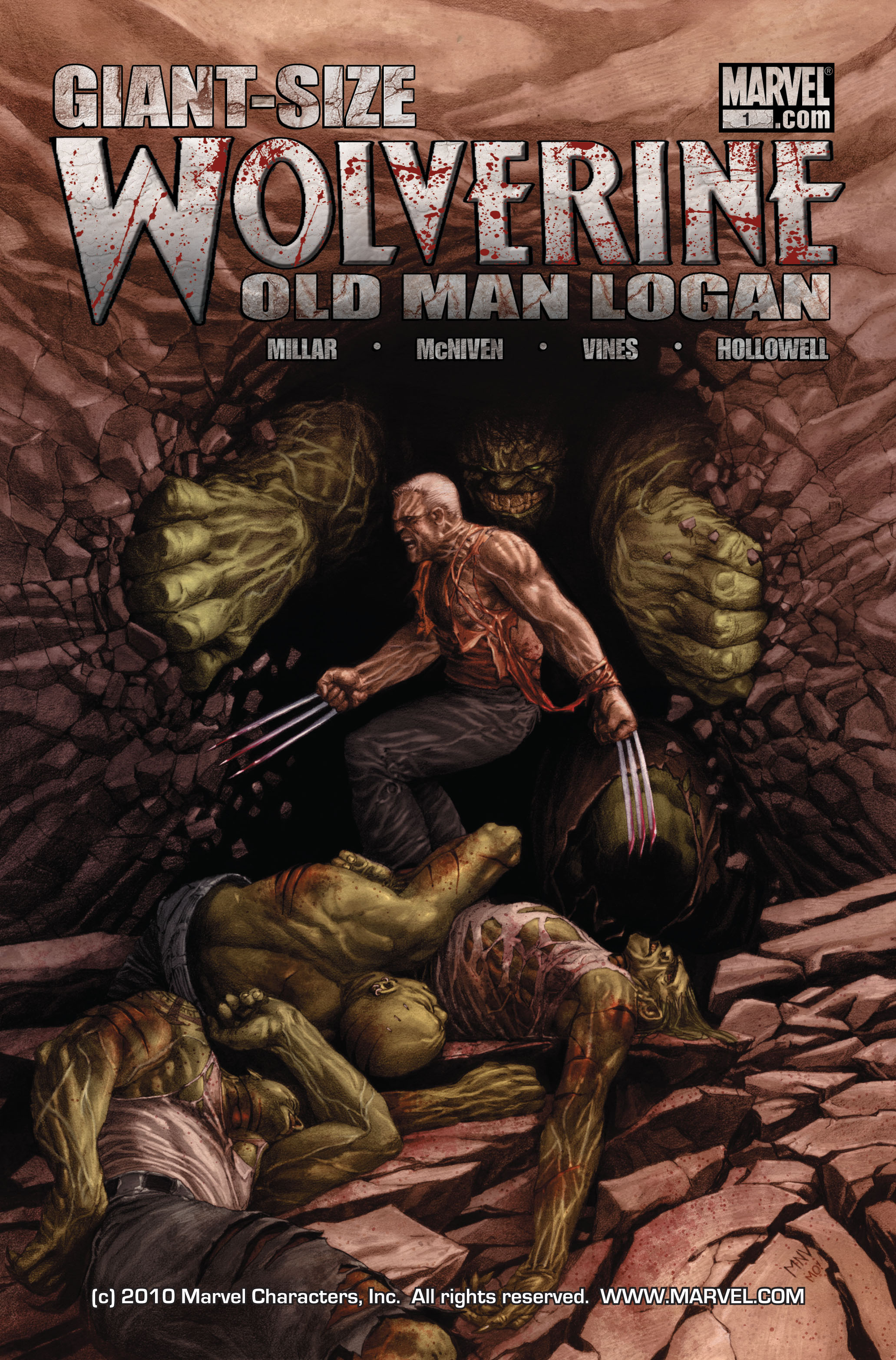 Wolverine: Old Man Logan Giant-Size 1 Page 1