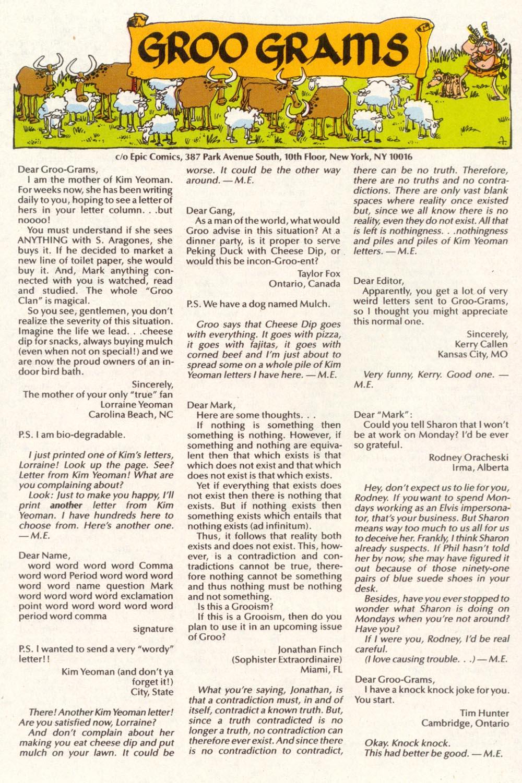 Read online Sergio Aragonés Groo the Wanderer comic -  Issue #88 - 30