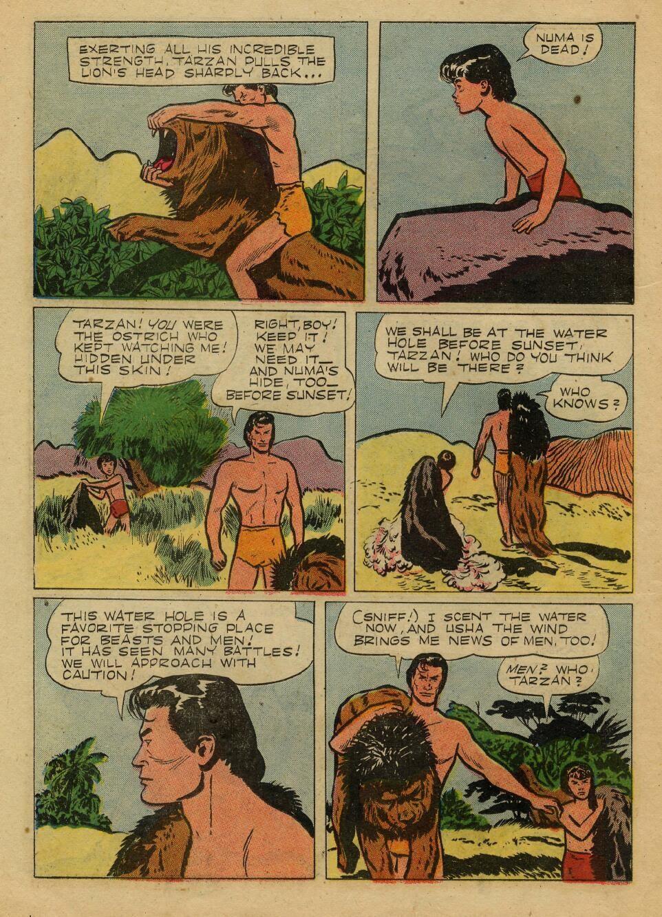 Tarzan (1948) issue 72 - Page 22
