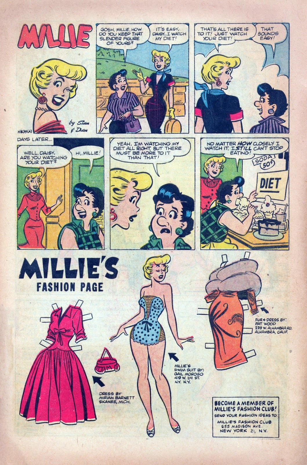 Millie the Model issue 68 - Page 8
