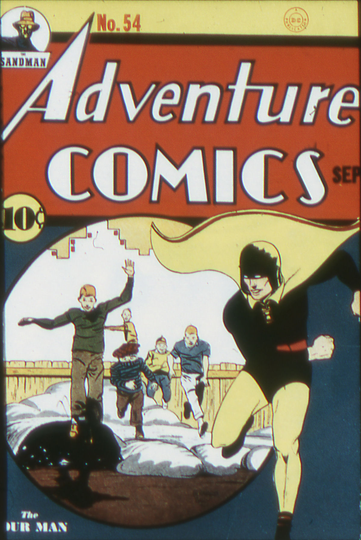 Read online Adventure Comics (1938) comic -  Issue #54 - 1