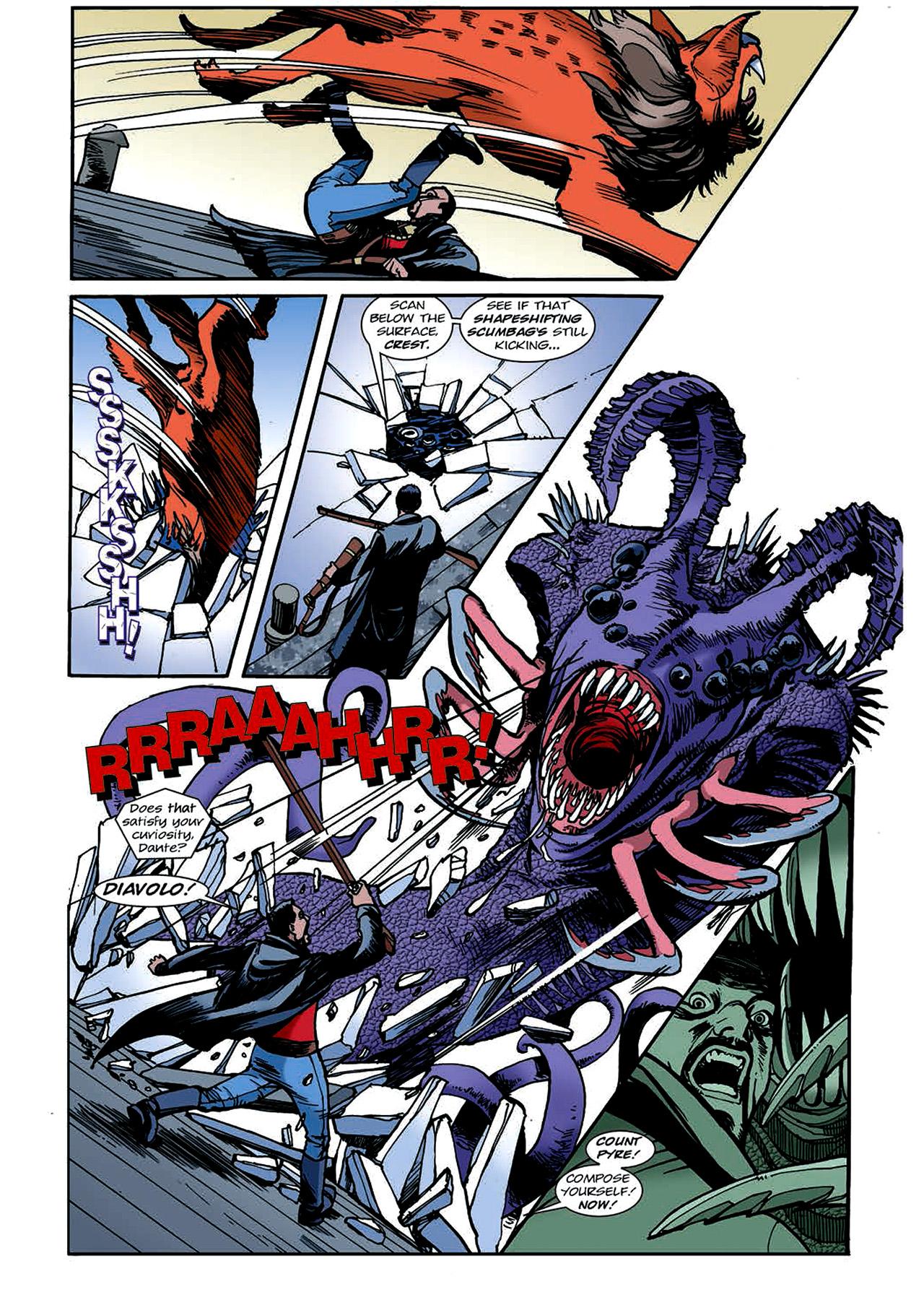 Read online Nikolai Dante comic -  Issue # TPB 4 - 121