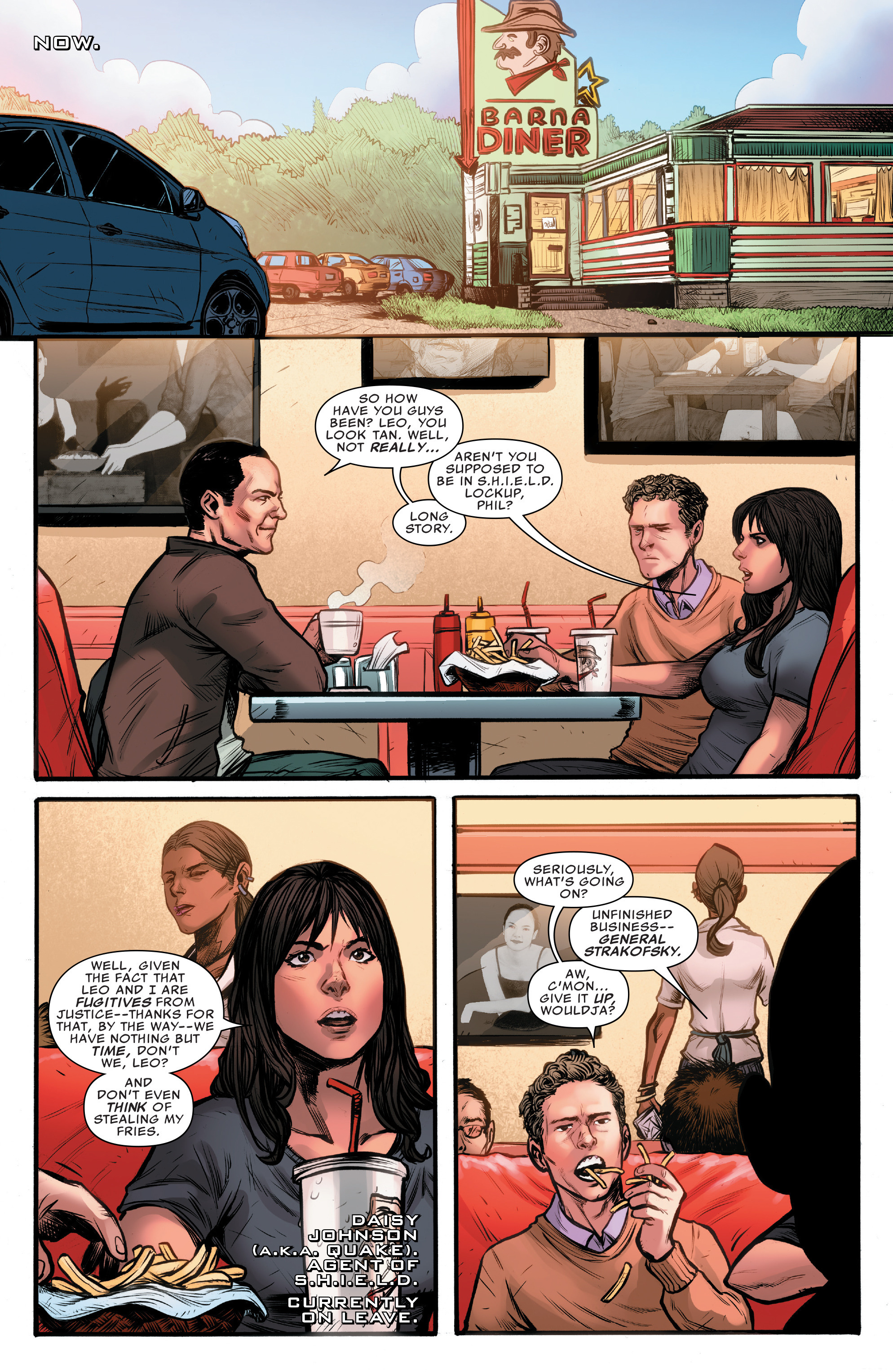 Read online Agents of S.H.I.E.L.D. comic -  Issue #10 - 6