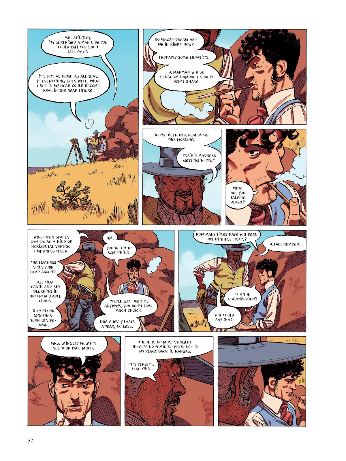 Read online The Smell of Starving Boys comic -  Issue # TPB - 53