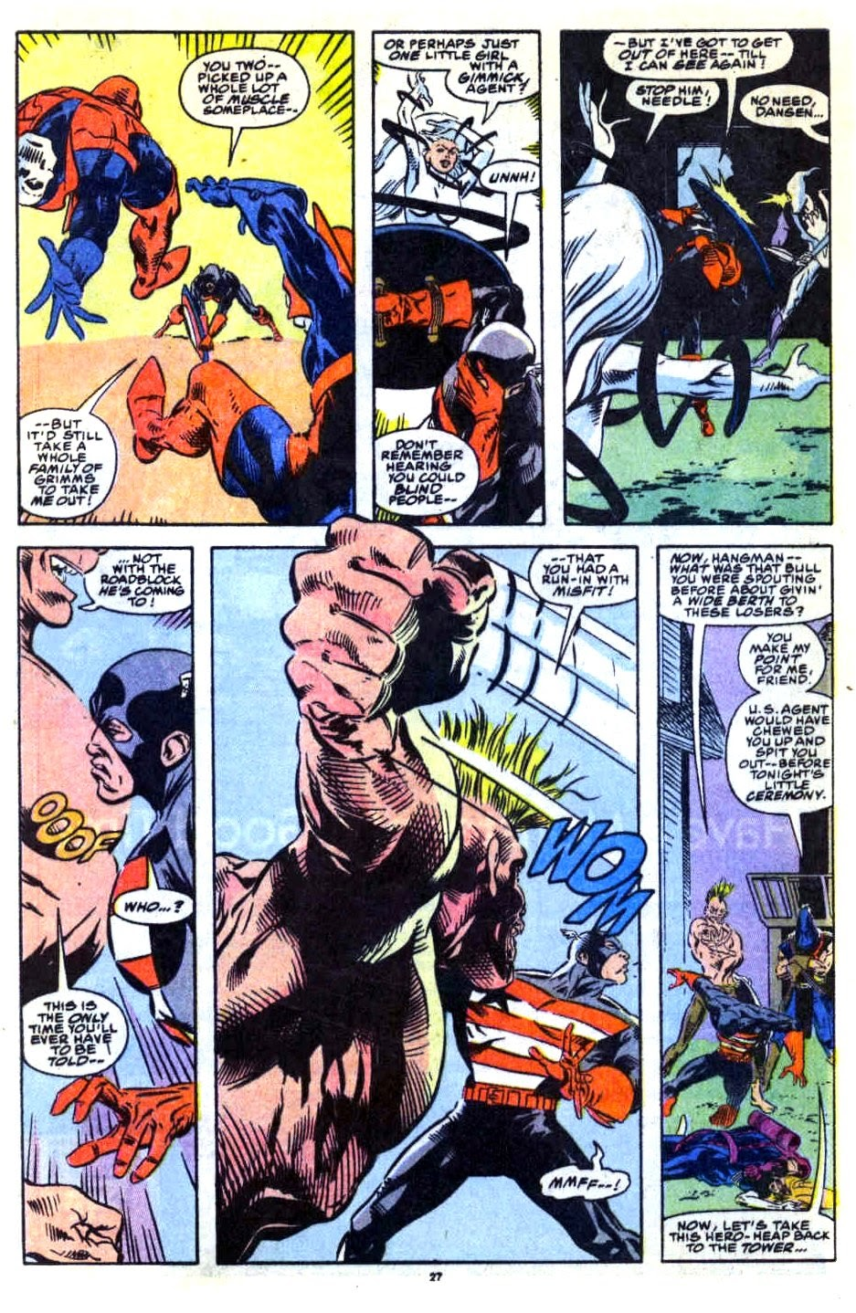 Avengers West Coast (1989) issue 76 - Page 21