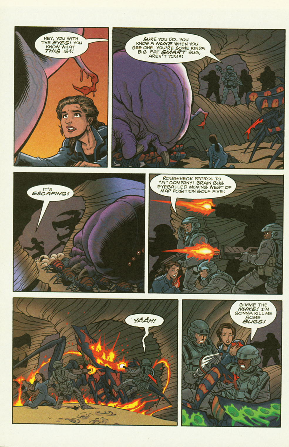 Read online Starship Troopers comic -  Issue #2 - 22