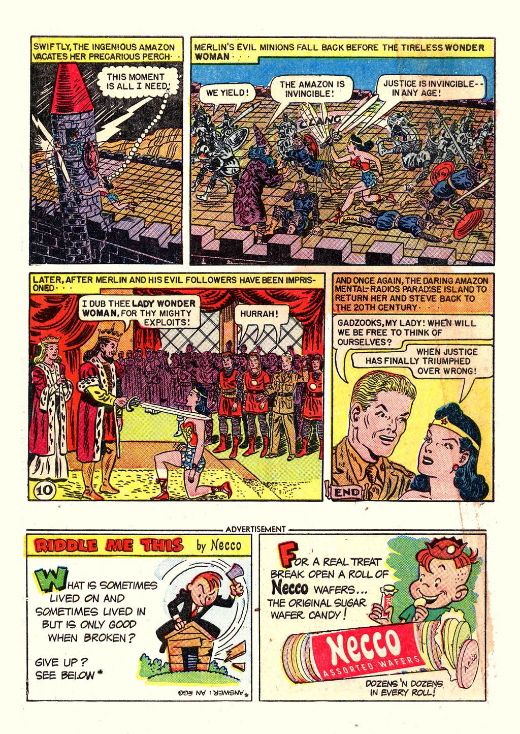 Read online Wonder Woman (1942) comic -  Issue #54 - 12