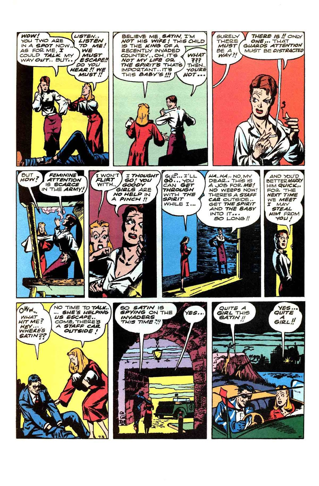 Read online Will Eisner's The Spirit Archives comic -  Issue # TPB 3 (Part 1) - 8