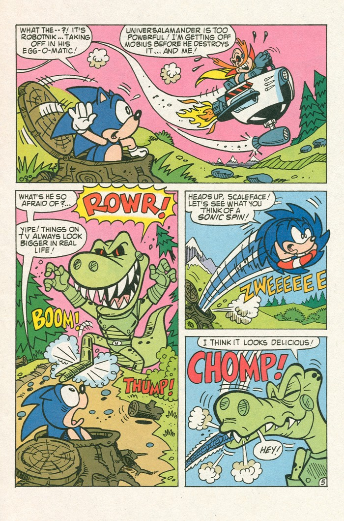Read online Sonic Super Special comic -  Issue #3 - Sonic Firsts - 29