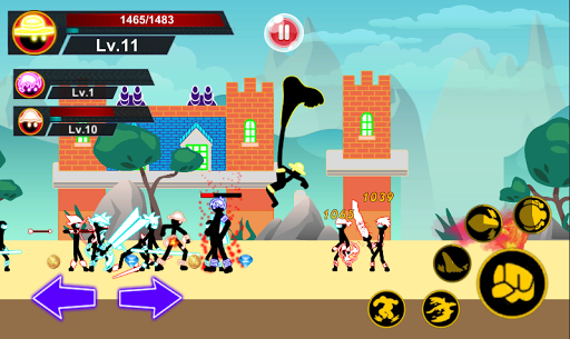 Stickman Hero Pirate Fight Hack