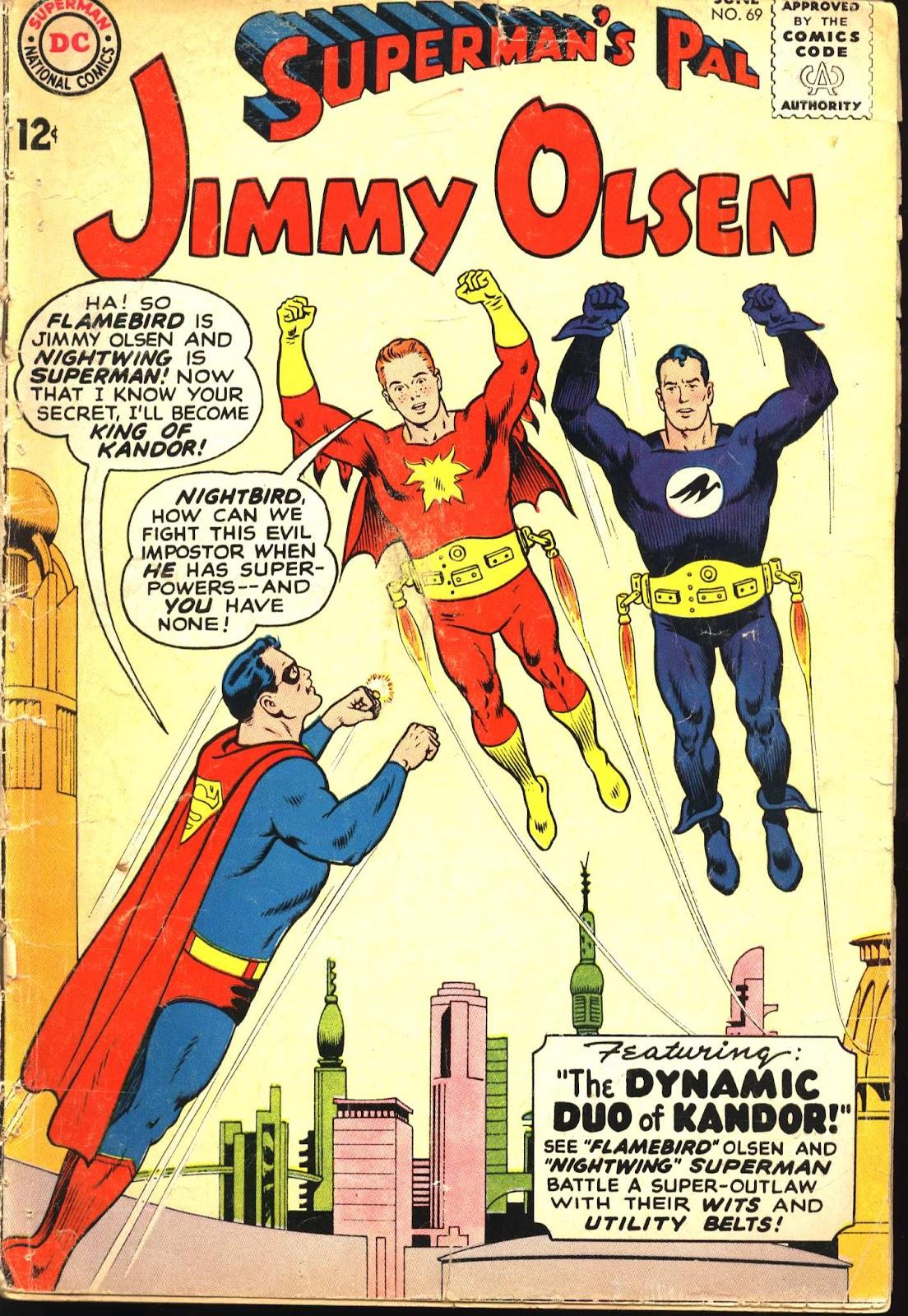 Supermans Pal Jimmy Olsen (1954) 69 Page 1