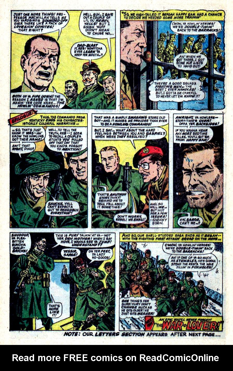 Read online Sgt. Fury comic -  Issue #44 - 28