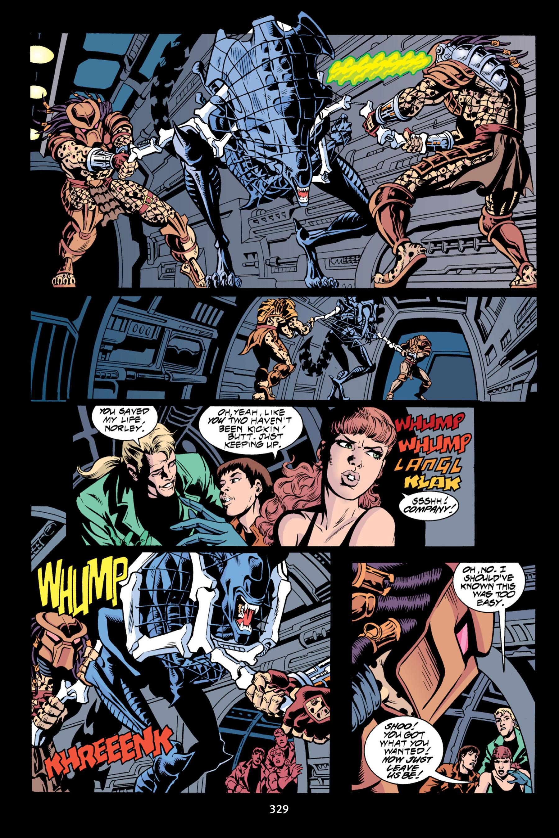 Read online Aliens vs. Predator Omnibus comic -  Issue # _TPB 2 Part 3 - 104