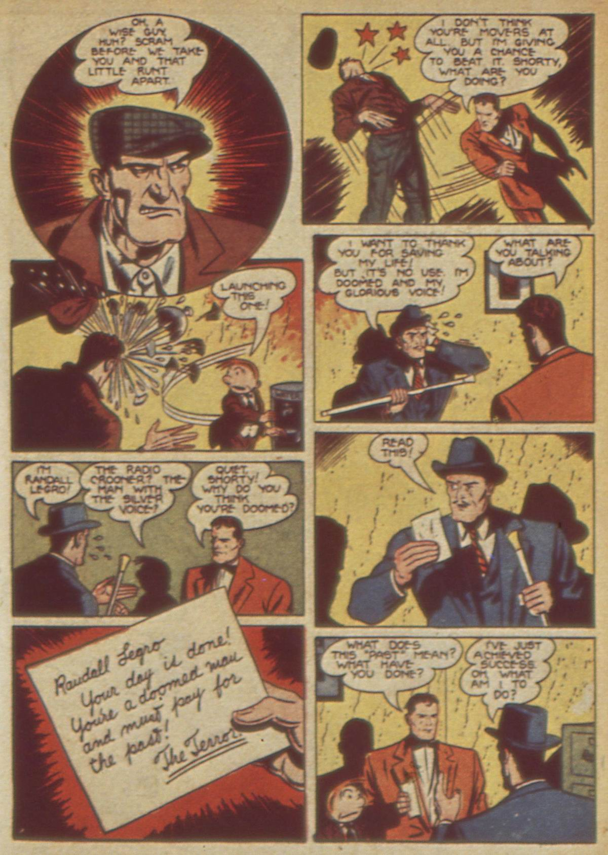 Read online Detective Comics (1937) comic -  Issue #49 - 59