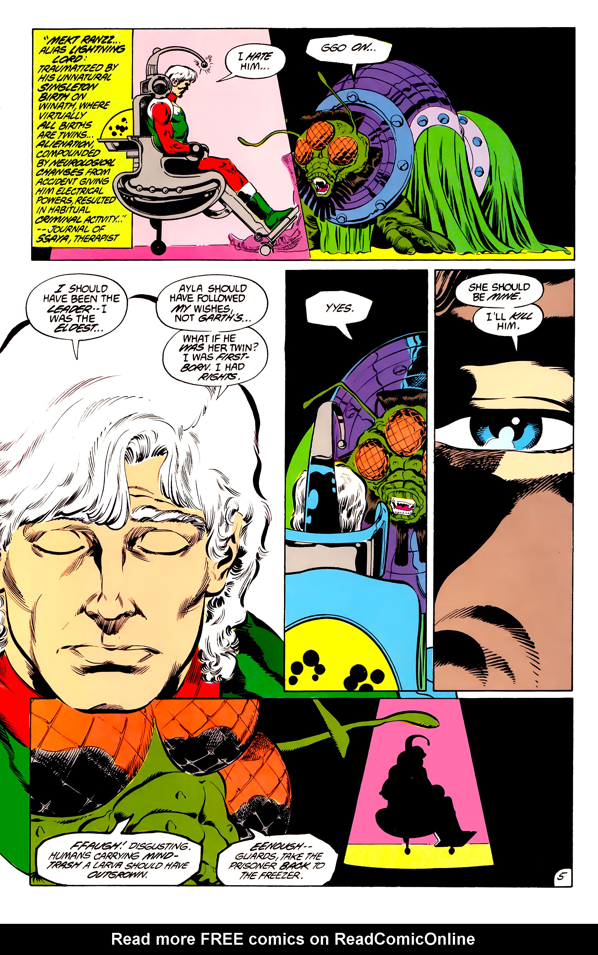 Legion of Super-Heroes (1984) 45 Page 5