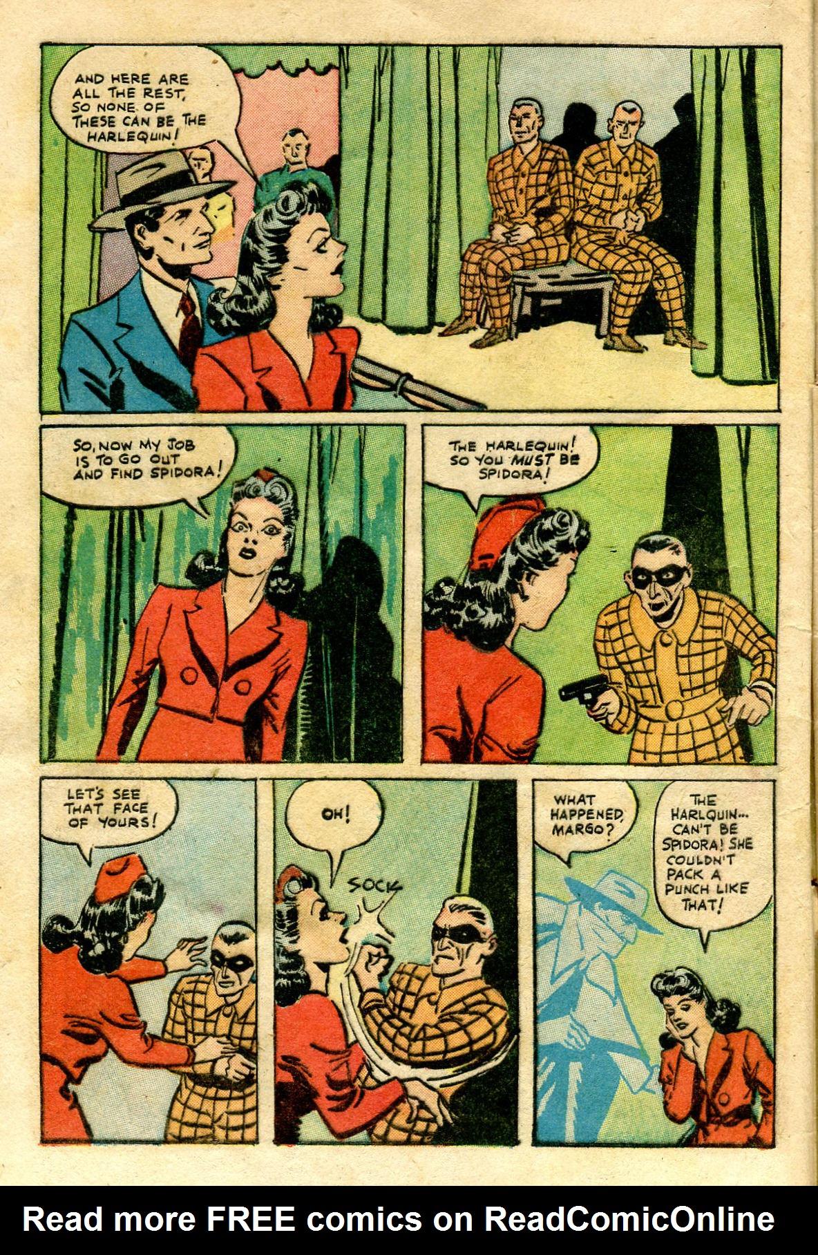 Read online Shadow Comics comic -  Issue #65 - 8