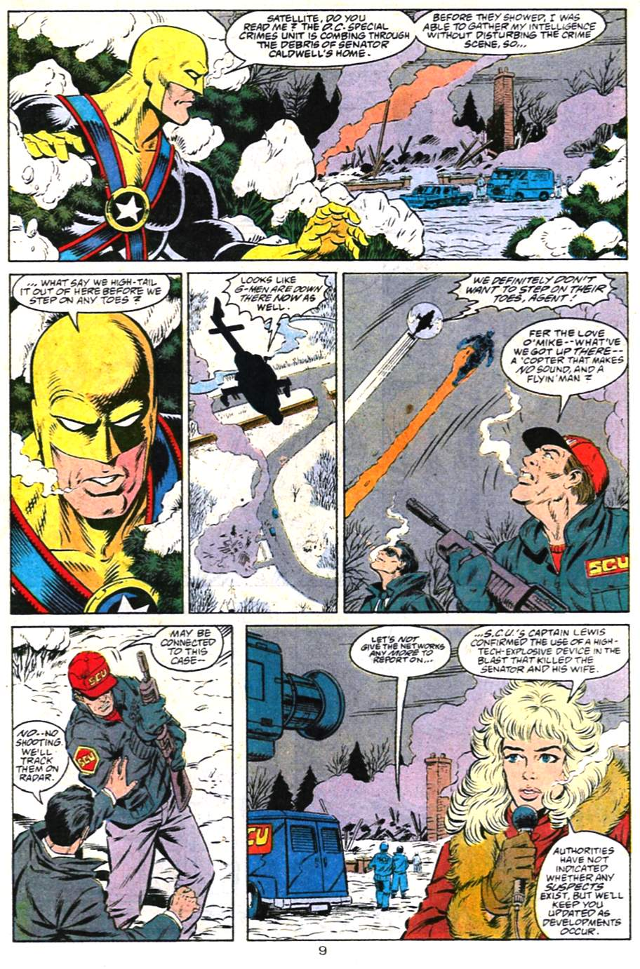 Read online Adventures of Superman (1987) comic -  Issue #487 - 10
