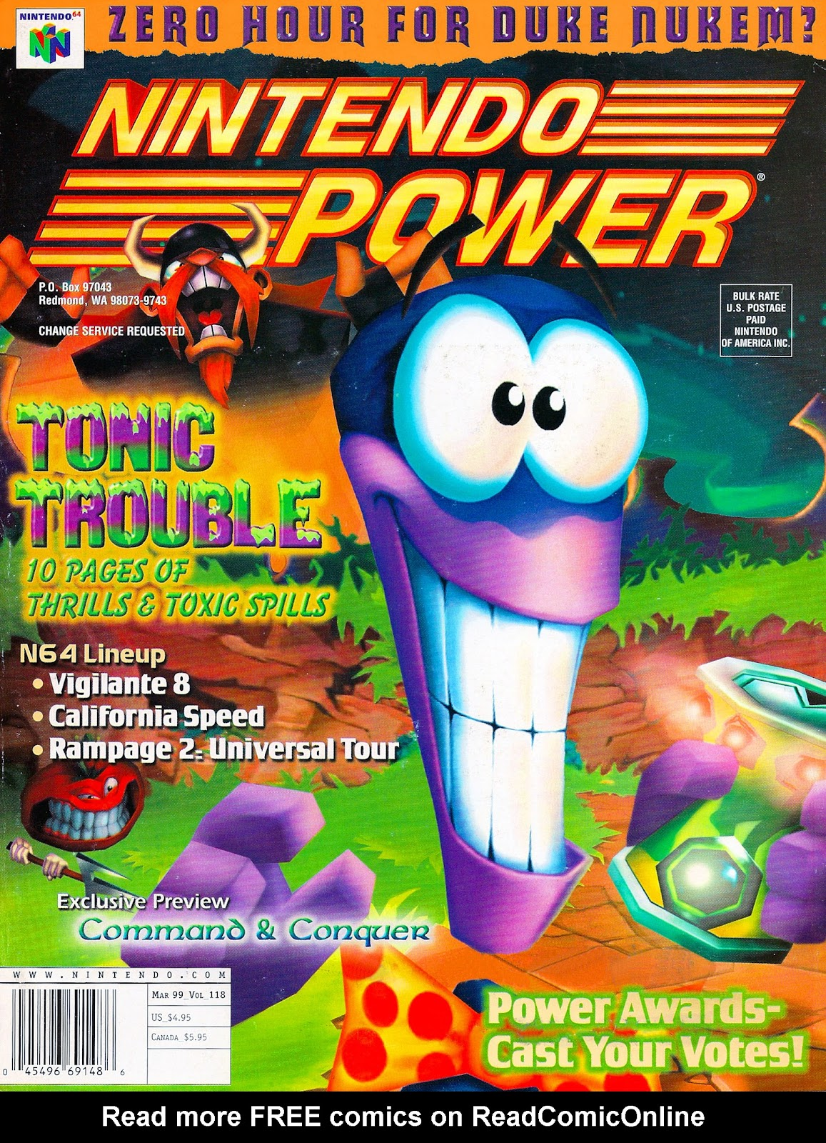 Nintendo Power 118 Page 1