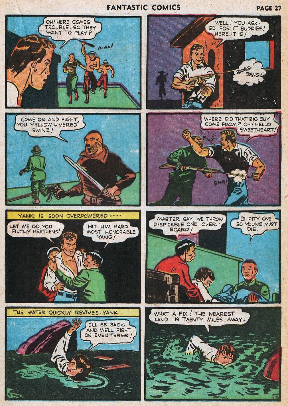 Read online Fantastic Comics comic -  Issue #20 - 28
