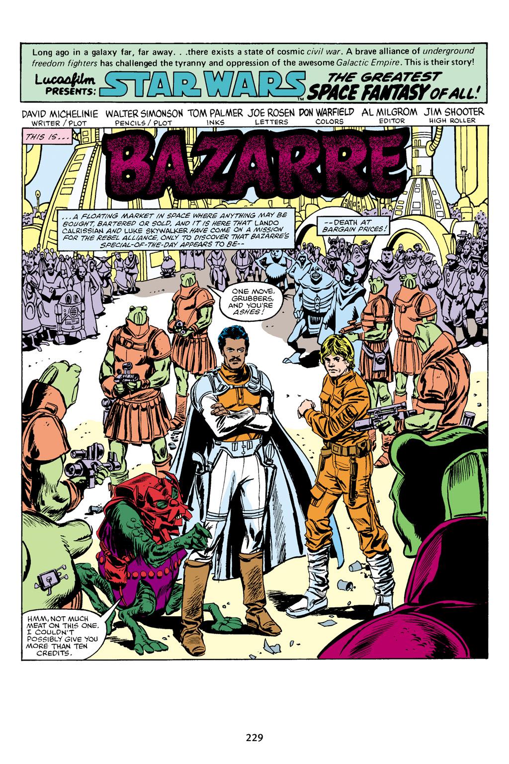 Read online Star Wars Omnibus comic -  Issue # Vol. 16 - 226