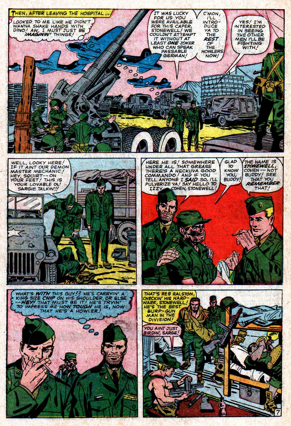 Read online Sgt. Fury comic -  Issue #6 - 10